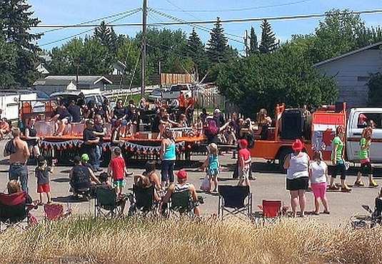 Parade Kaymor's Canada Day