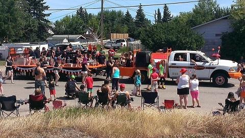 Kaymor's parade float