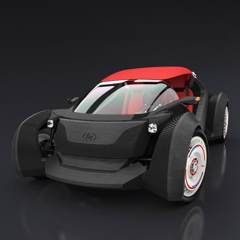 3D Printed Electric Car - Kaymor
