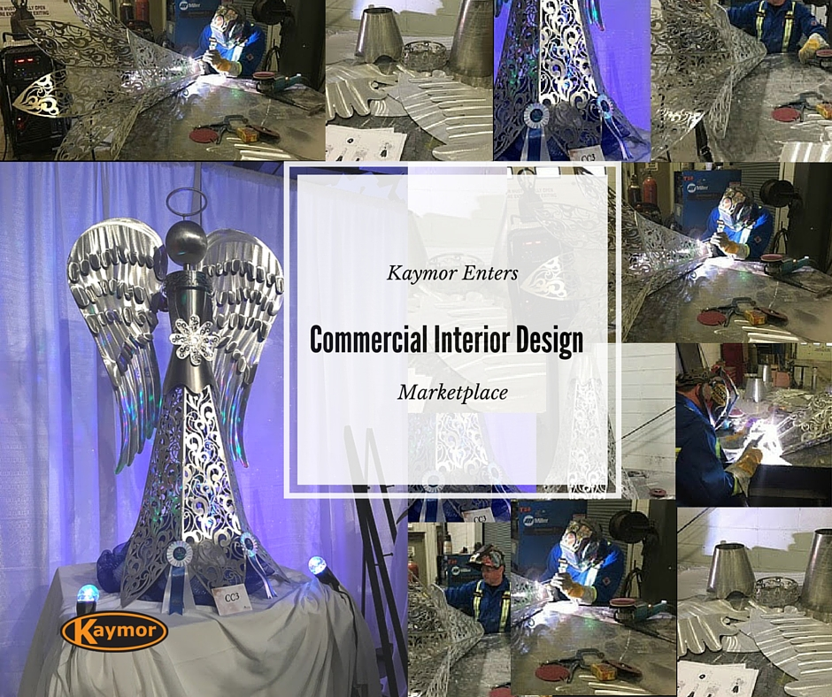 commercial interior design, welding, fabrication, metal art, design, machining