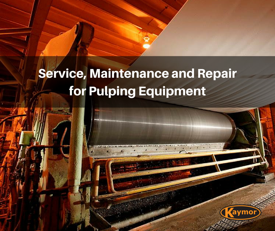 Grande Prairie Pulping Equipment Service, Maintenance, Repair
