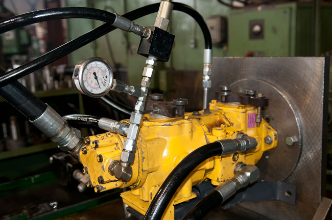 Hydraulics troubleshooting repair services grande prairie for Hydraulic pump motor combination